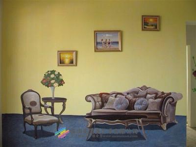 样板房彩绘系列